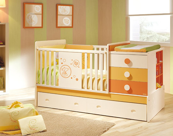 Baby Crib Nursery Furniture