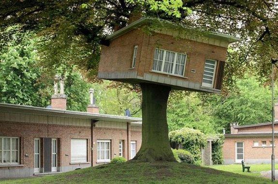 Senior Center Turned Treehouse — Ghent, Belgium