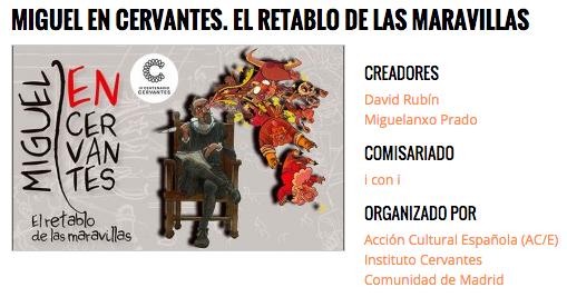 Miguel en Cervantes