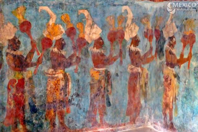 El arte del dia ensayo del arte prehisp nico jorge de la for El mural de bonampak