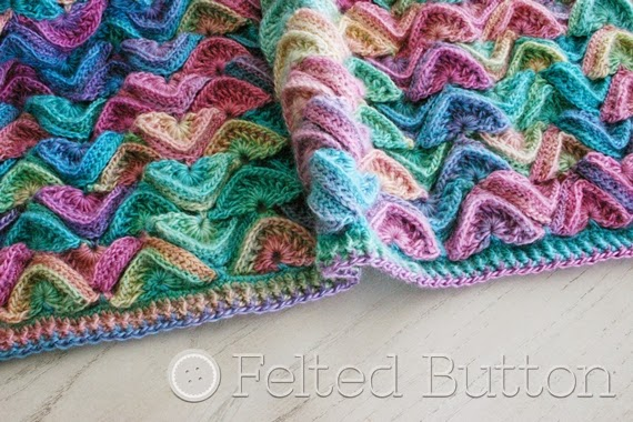 Felted Button - Colorful Crochet Patterns: Can You Hear the Song of ...