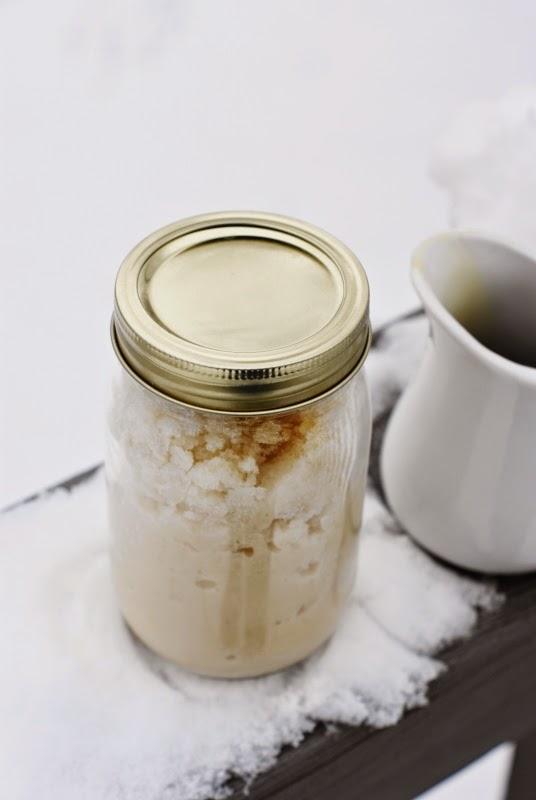 Maple Snow Cream