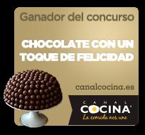 Ganadora del concurso de Chocolate con un toque de felicidad de Canal Cocina