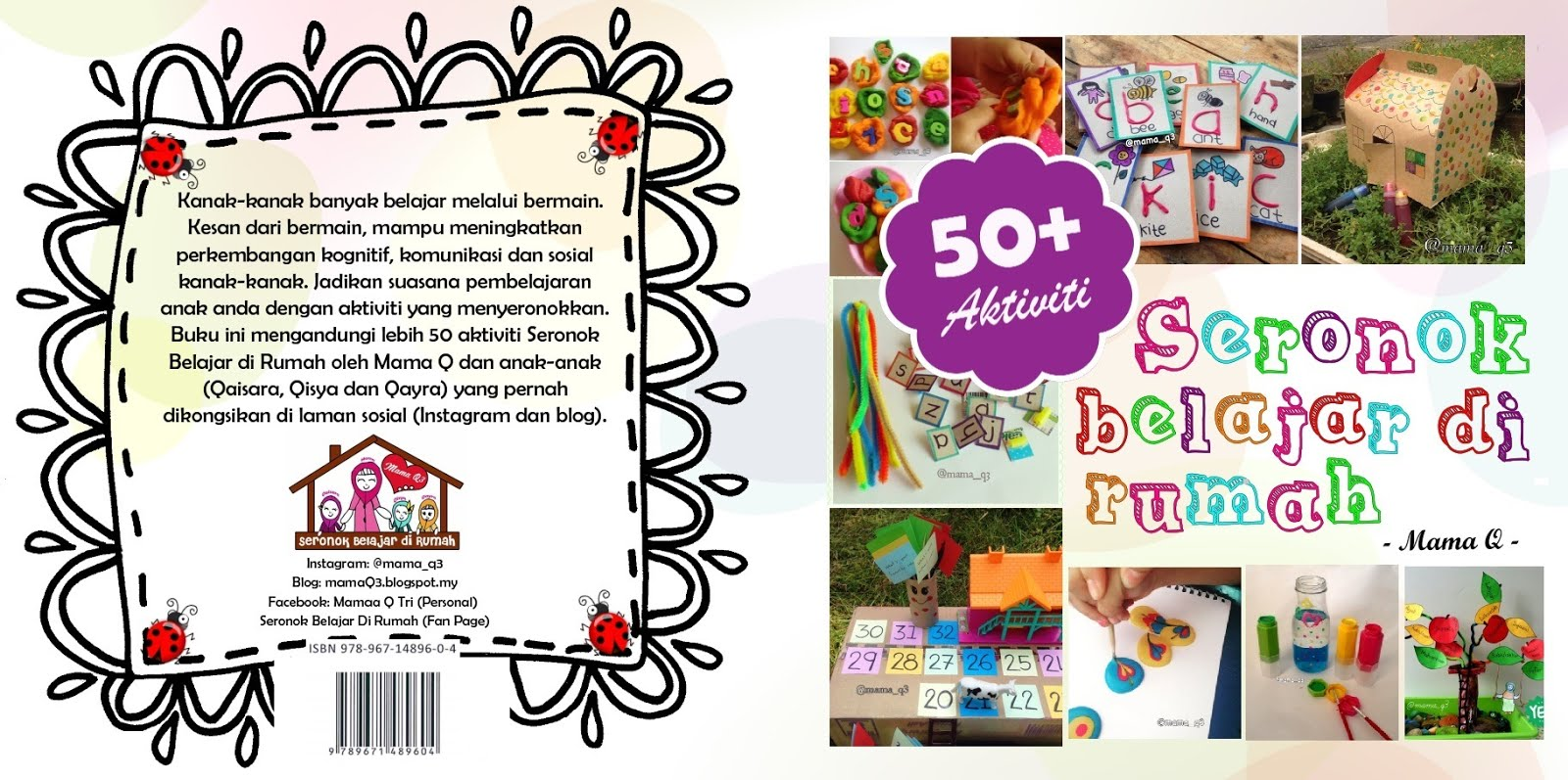 Buku Seronok Belajar di Rumah