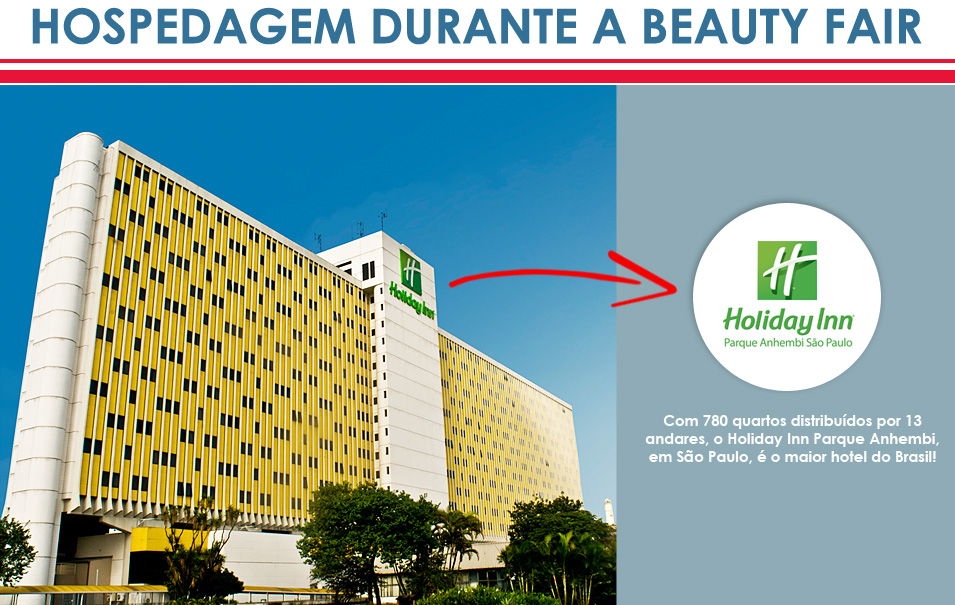 Hotel Para Beauty Fair: Holiday Inn Parque Anhembi