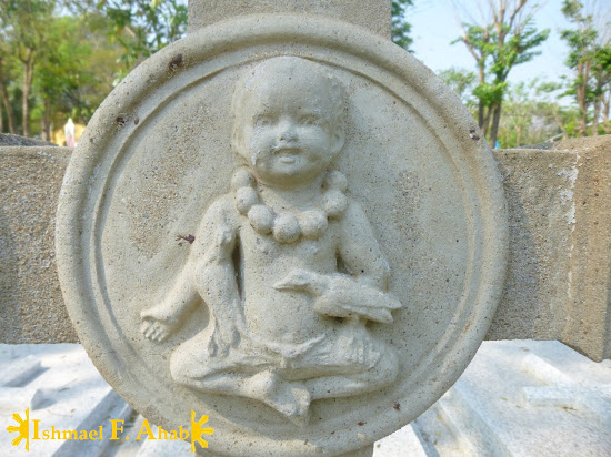 Image of the Holy Child in St. Joseph Church in Ayutthaya Historical Park
