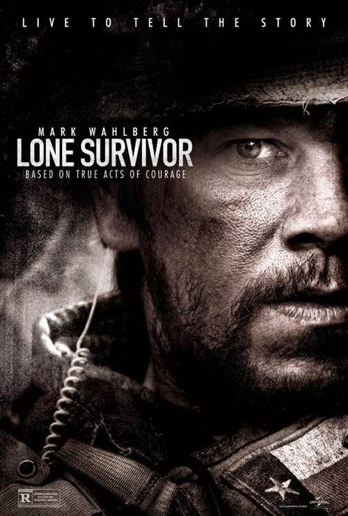 Lone Survivor movie promo art