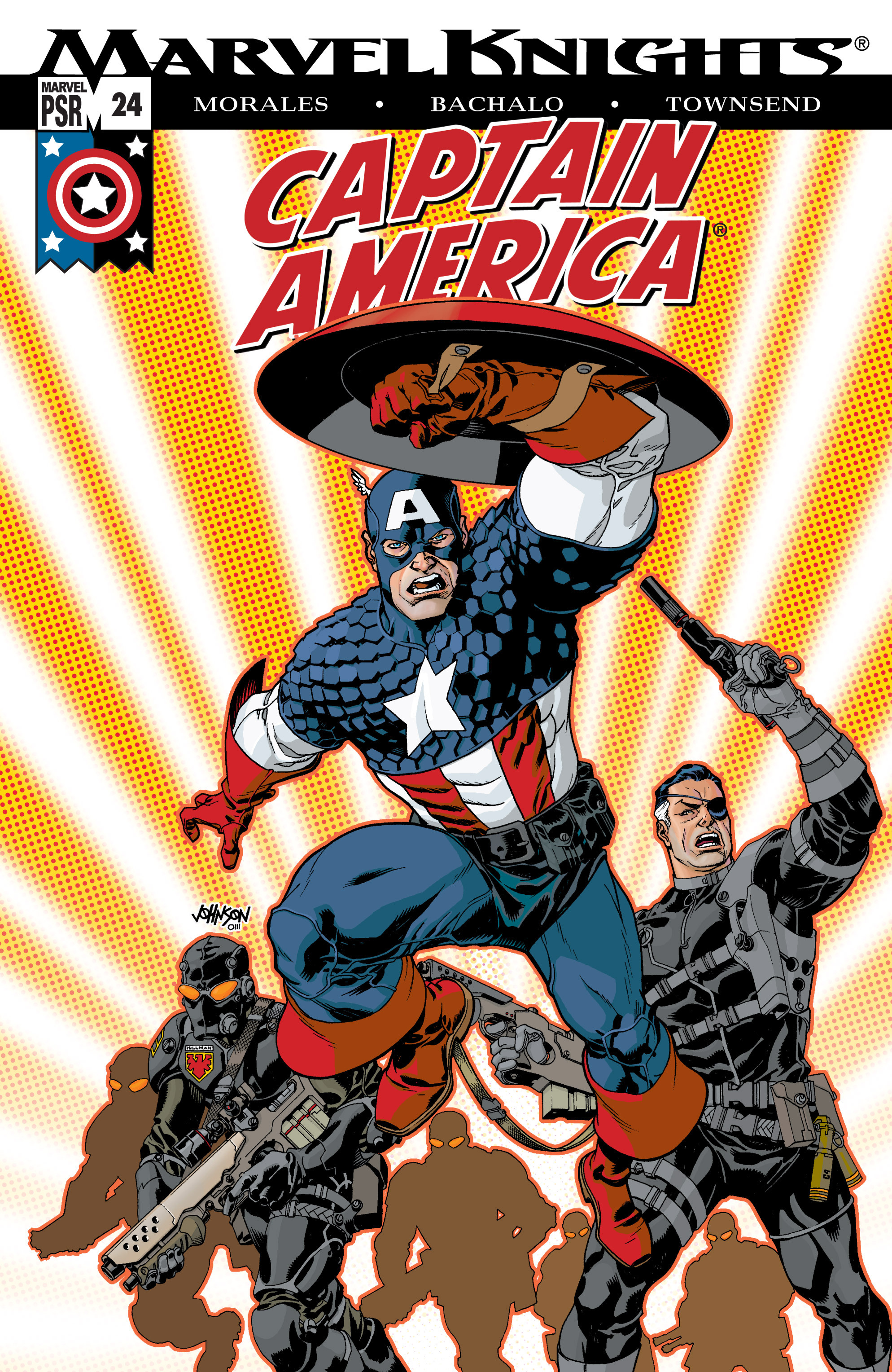 Captain America (2002) Issue #24 #25 - English 1