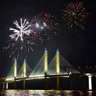 gambar jambatan ke2 pulau pinang, jambatan sultan muazam shah, gambar jambatan baru penang, jambatan kedua pulau pinang, gambar perasmian jambatan ke2 pulau pinang, gambar perasmian jambatan ke-2 pulau pinang, gambar perasmian jambatan baru pulau pinang, jambatan pulau pinang, jambatan baru penang, secondbridgepenang, second bridge pulau pinang, gambar jambatan baru pulau pinang