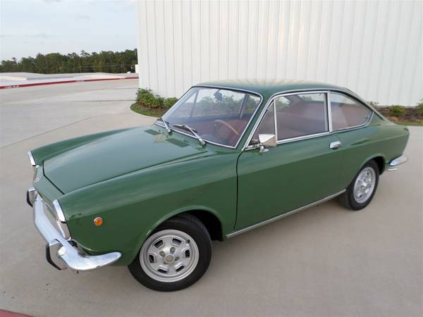 full restoration 1970 fiat 850 sport coupe auto. Black Bedroom Furniture Sets. Home Design Ideas