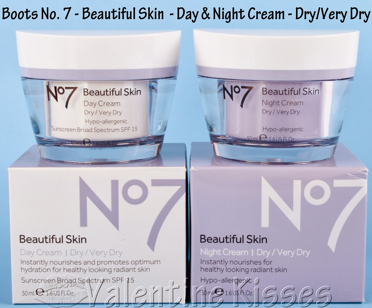 valentine kisses  boots no  7 beautiful skin day  u0026 night