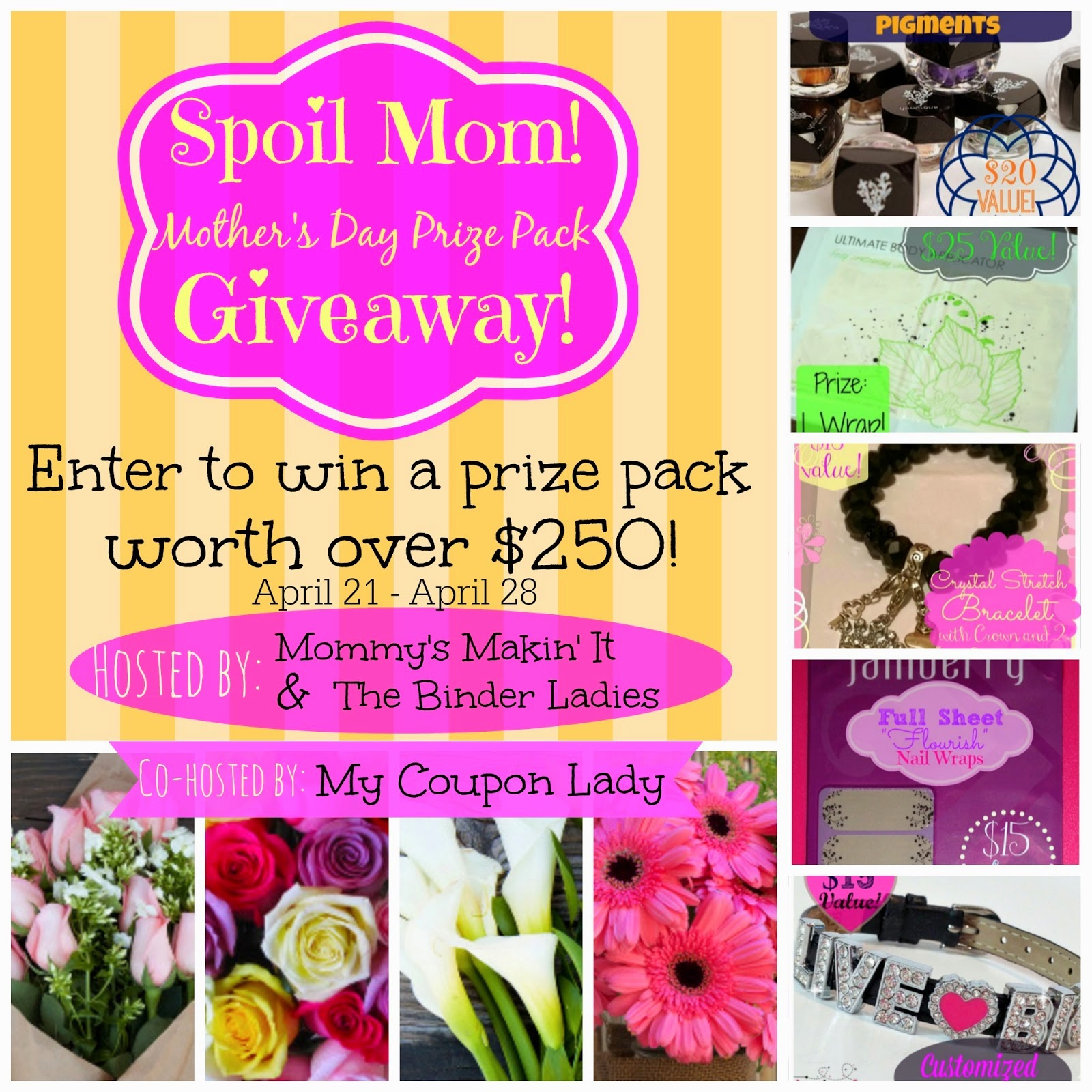 Spoil Mom - Mother's Day Giveaway