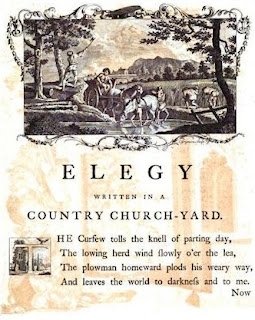elegy written in a country churchyard english literature essay Posted on june 22, 2017, in literature and tagged analysis, close reading, elegy written in a country churchyard, english literature, gray's elegy, literary criticism, poetry, summary, thomas gray bookmark the permalink .