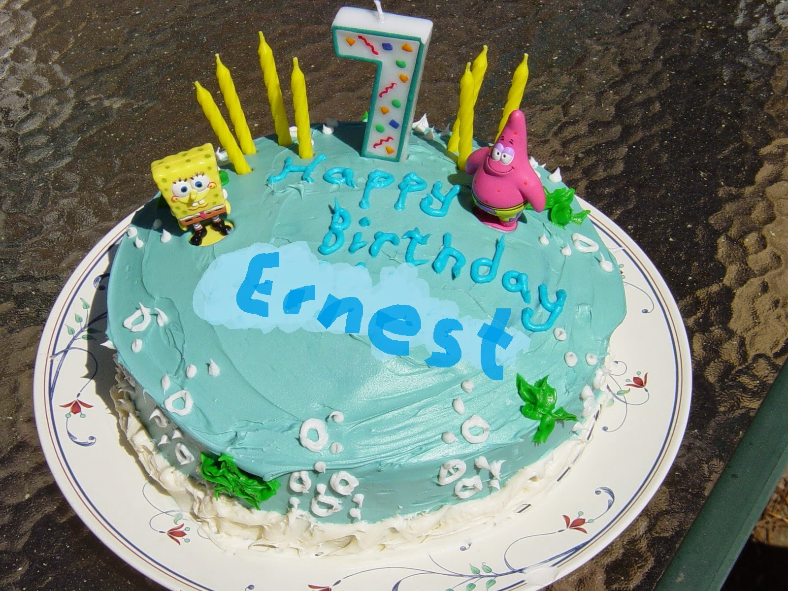 Small Town Me A Life In Cakes Or Happy Birthday Ernest