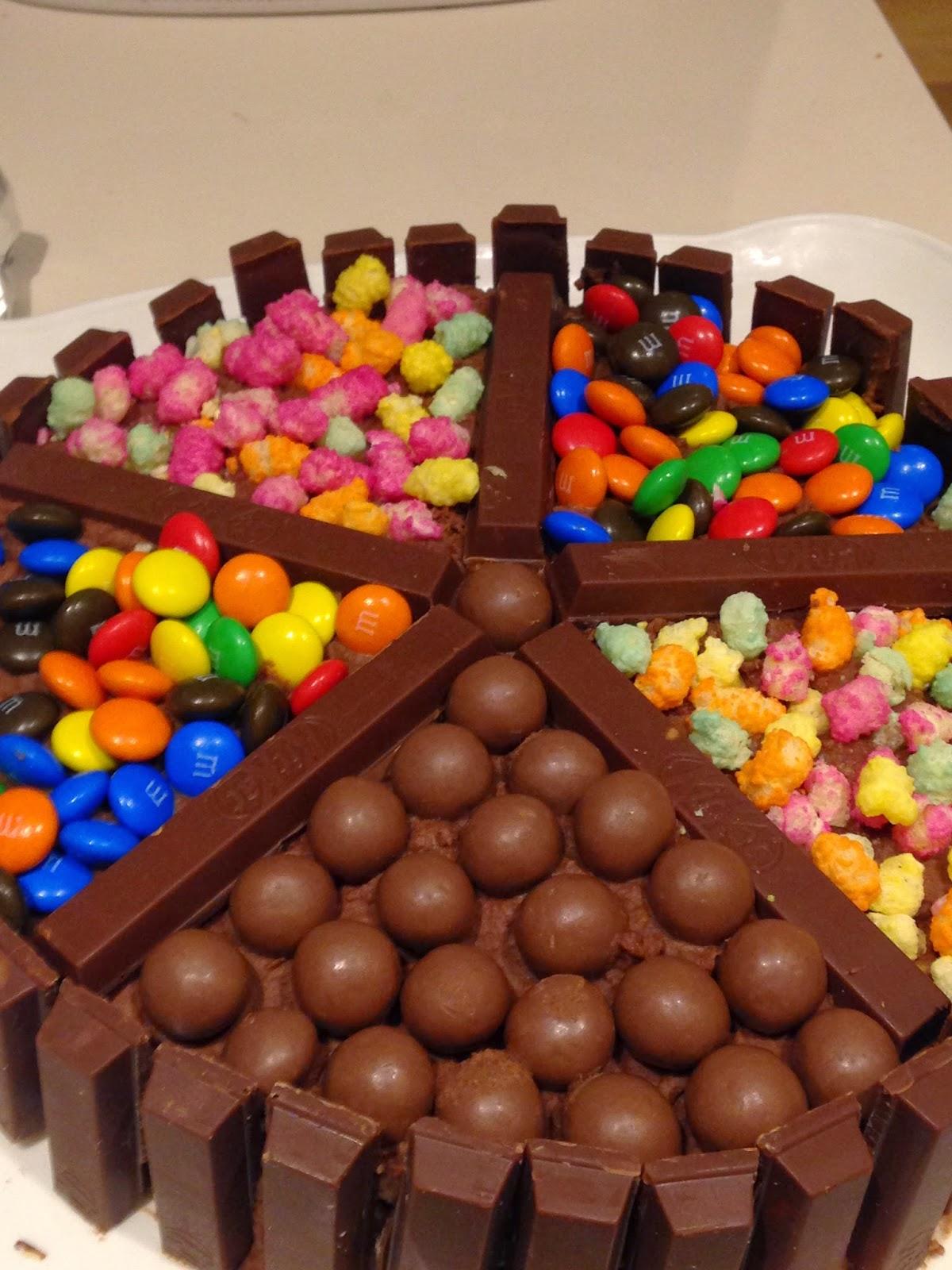 Easy Peasy Maltesers Kit Kat Birthday Cake Run Out Of Womb