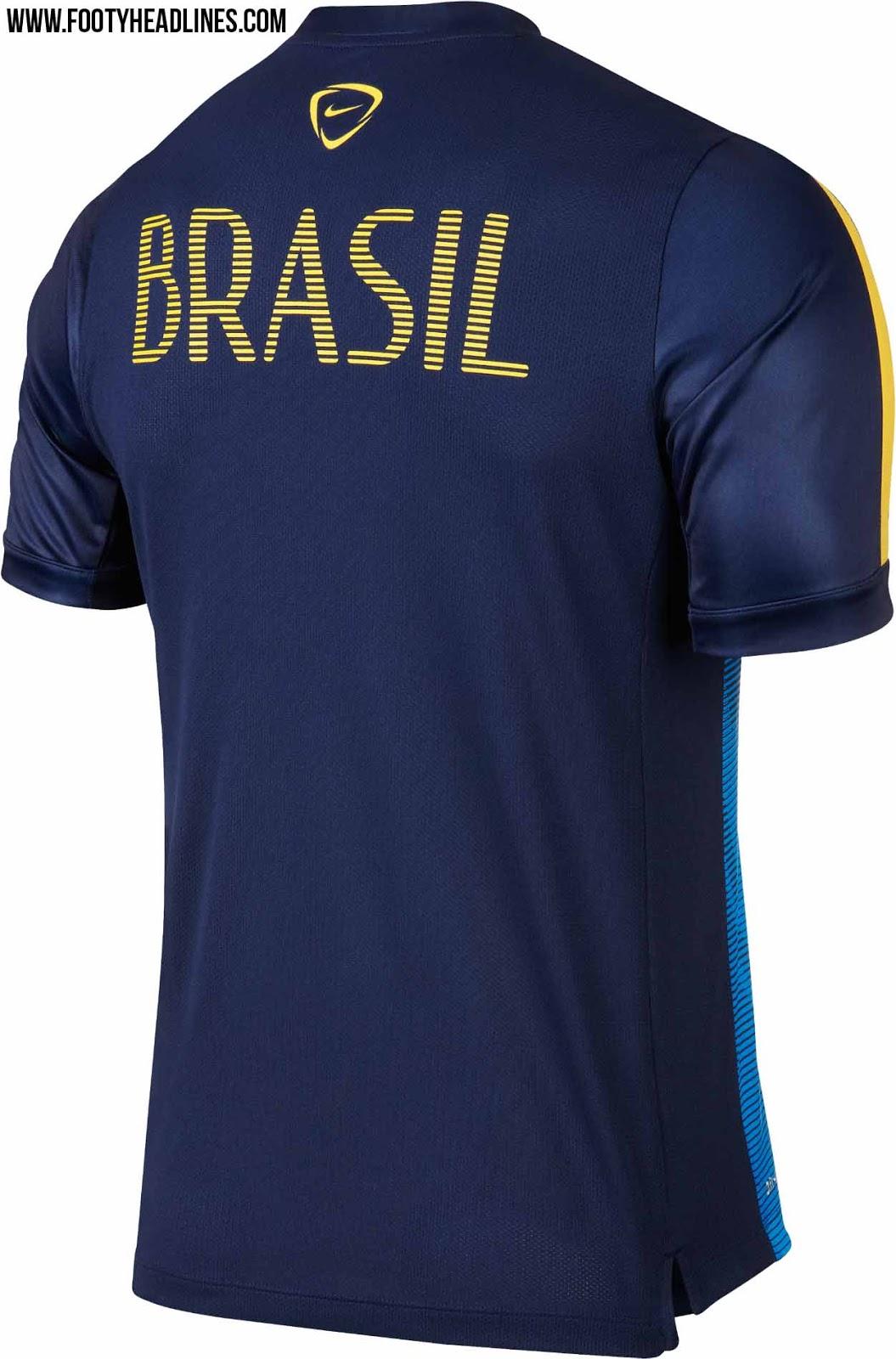 Nova camisa pré-jogo do Brasil acabbb022aebf