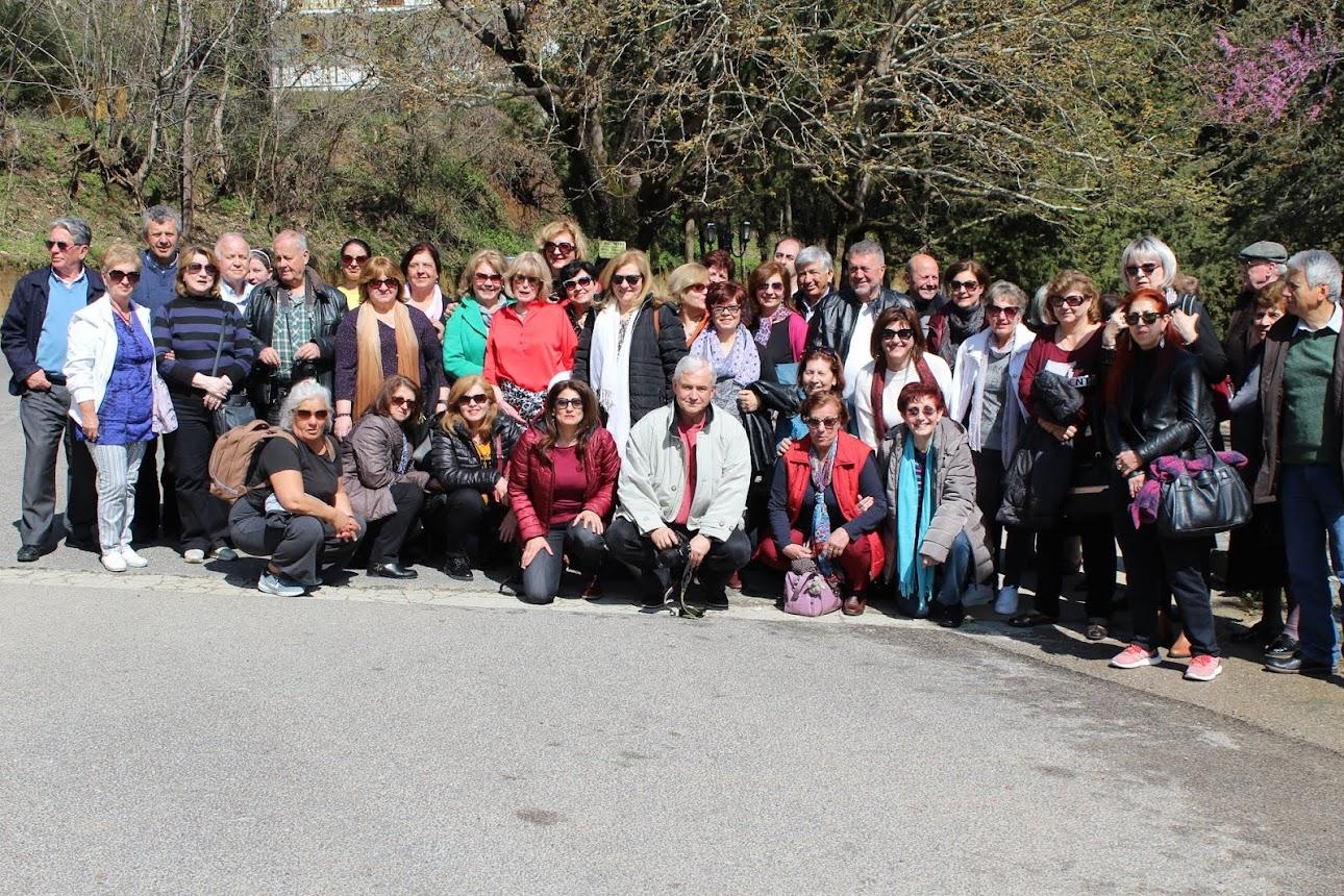 Ο Σύλλογος Επτανησίων στην Υπάτη - Μονή Αγάθωνος - Γοργοπόταμο - Καμένα Βούρλα