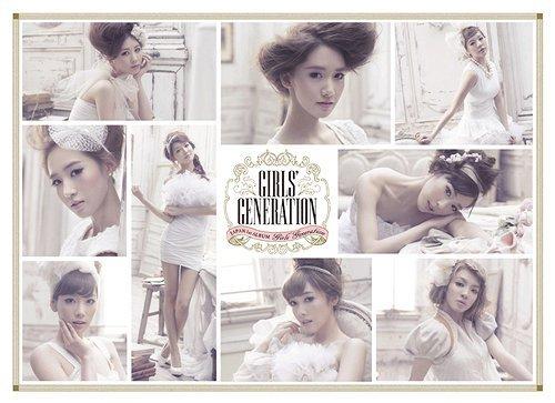 snsd girls generation album. 1st Japanese album,