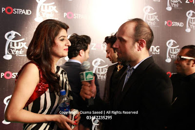 Faizan at LUX Style Awards 2012