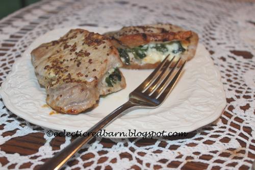 Greek Inspired Pork Chops