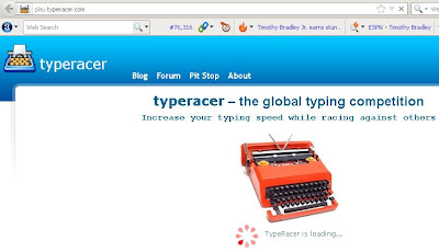 Increase your typing speed with typeracer
