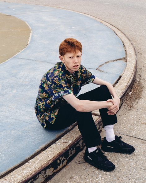 King Krule in Fader Magazine March 2014 Cover Story