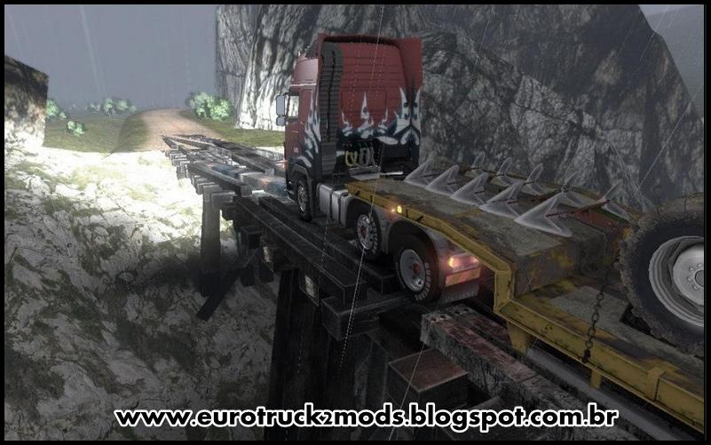 Euro truck 2 mods mapa 3