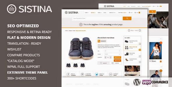 Sistina – Flat Multipurpose Shop Theme