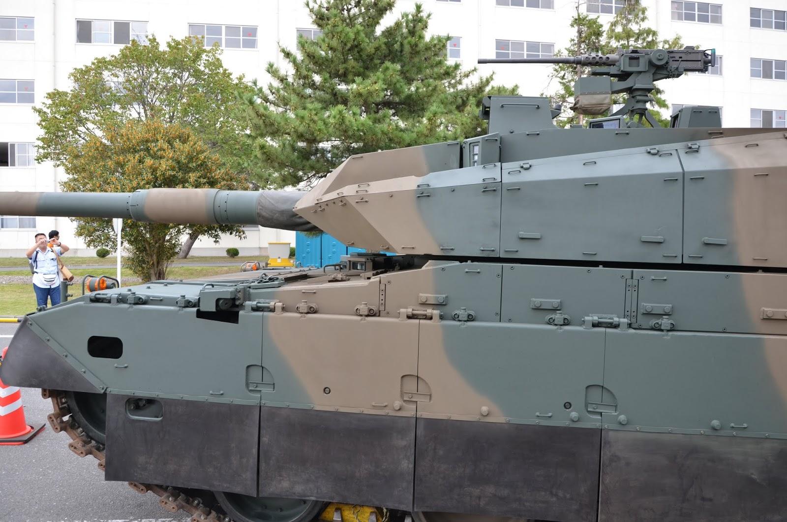 dragoner.ねっと: 10式戦車の装...