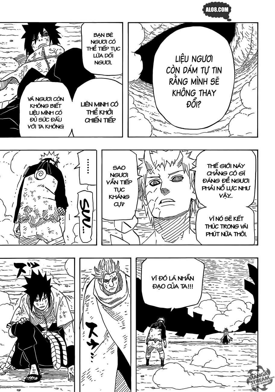 Naruto chap 650 Trang 14