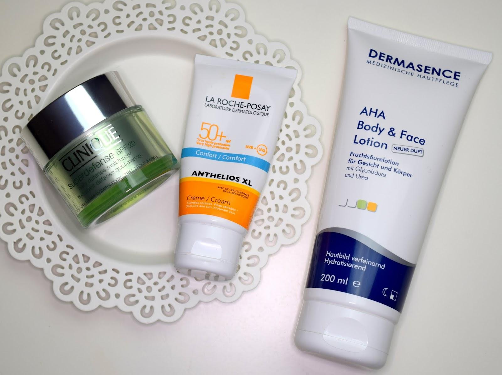 Meine Top 3 Gesichtspflege Produkte