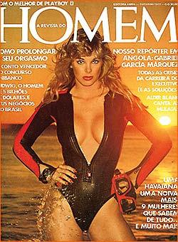 Confira as fotos de Susan Lynn Kiger, capa da revista Homem de setembro de 1977!