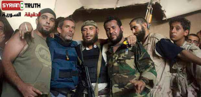 British Propagandist in Syria: The Good Guys? Conroy And Belhaj HumanTrash