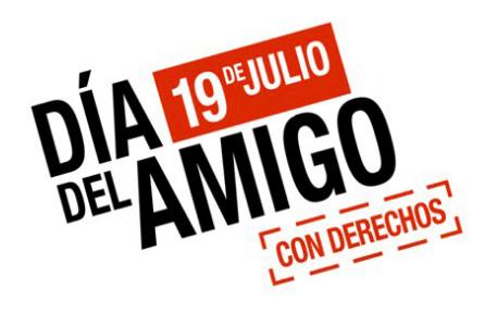 Día del amigo con derechos (19 de Julio)