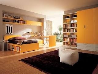 ـأحبڪْ } . . ڪِثرِ مآصُۆِتڪْ يَخدرِنيٌےً ۆ ِأدمَنتہ..! Orange-modern-Kids-Room-designs7