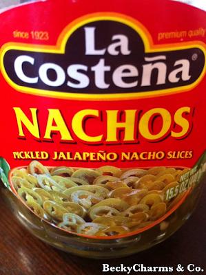 nachos, jalapeños