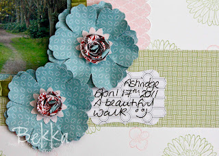 Stampin' Up! Reason to Smile Scrapbook Page by Bekka www.feeling-crafty.co.uk
