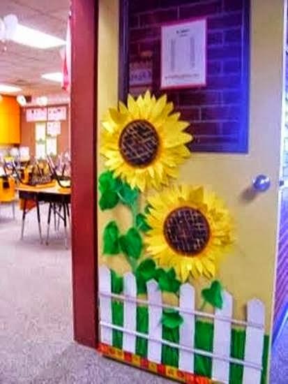 decorar sala de kinder:Falando da educação: Ideias de portas decoradas para sala de aula