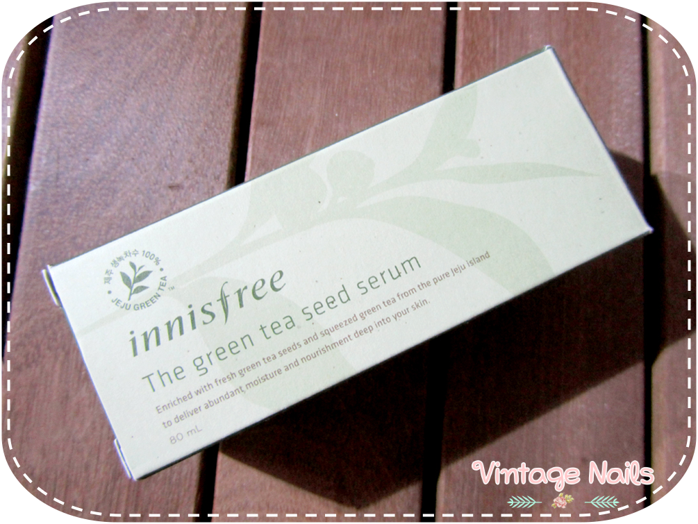 cosmetica coreana, cosmetica asiatica, korean cosmetics, innisfree, green tea seed serum, review