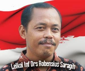 MENGENAL JEJAK KARIER Letkol Inf Robensius Saragih