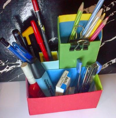 Cara Membuat Prakarya Kotak Pensil