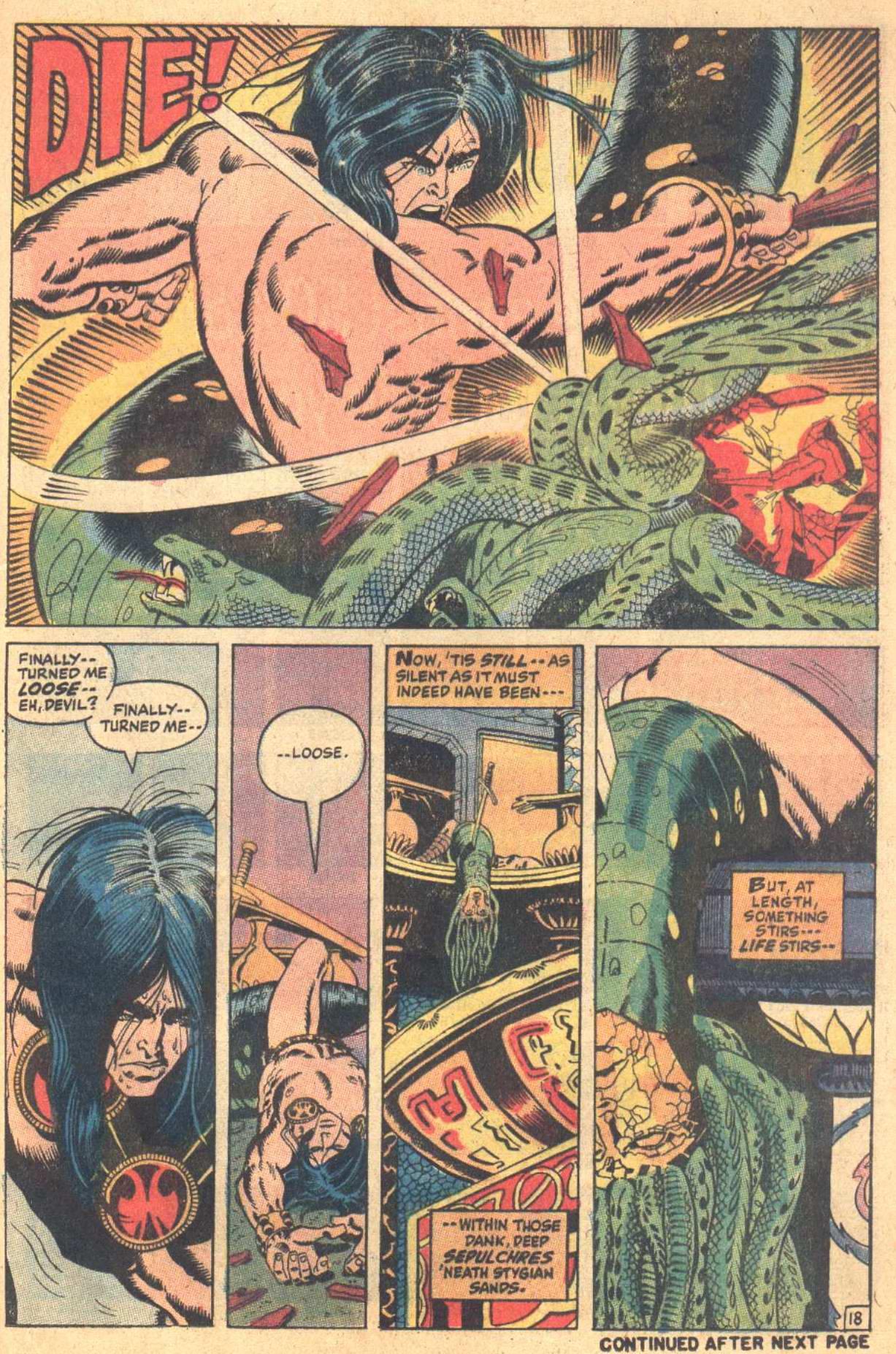 Conan the Barbarian (1970) Issue #7 #19 - English 19