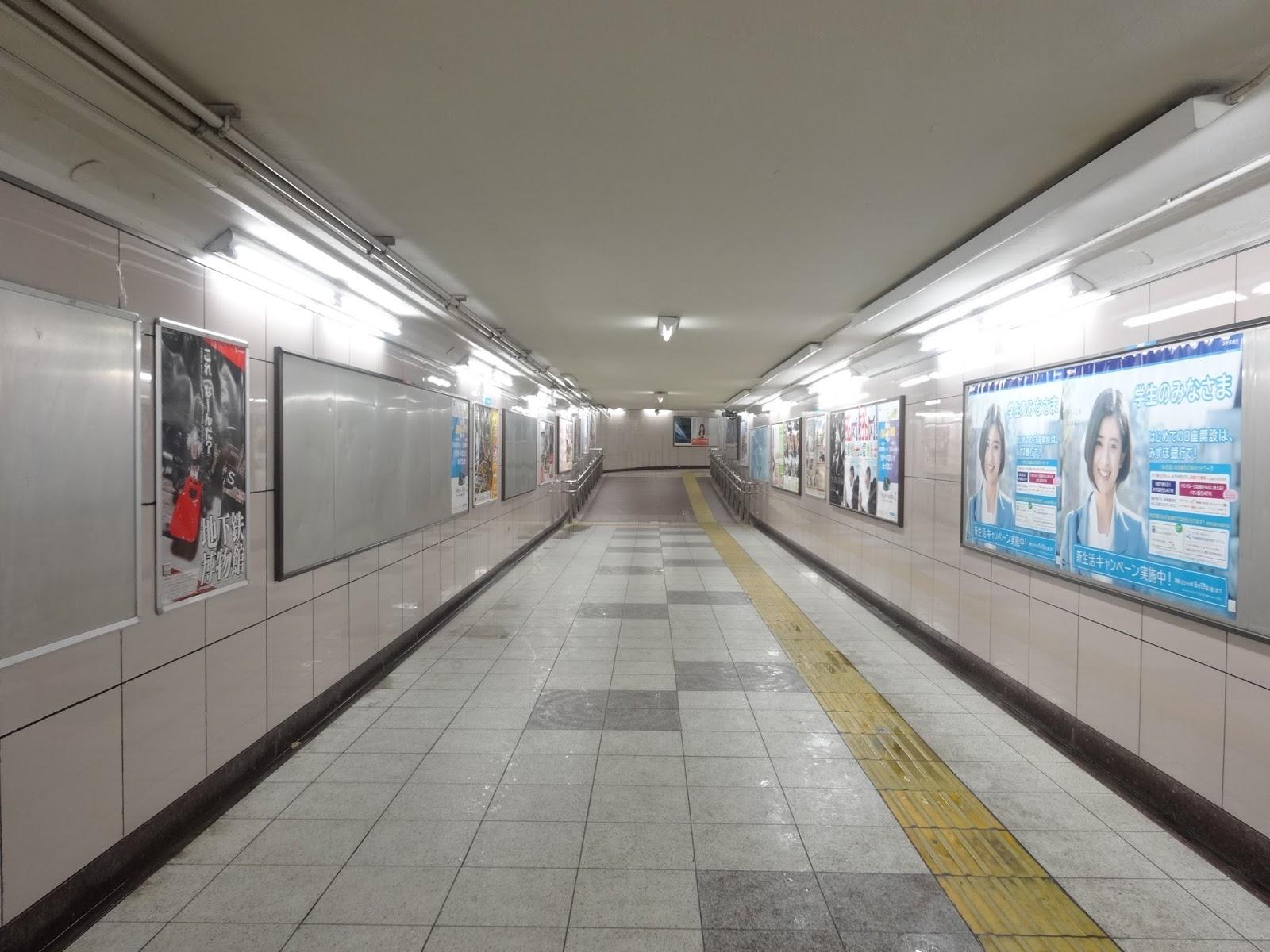地下道,地下鉄池袋駅〈著作権フリー画像〉Free Stock Photos