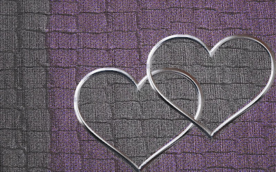purple black heart valentine tumblr background