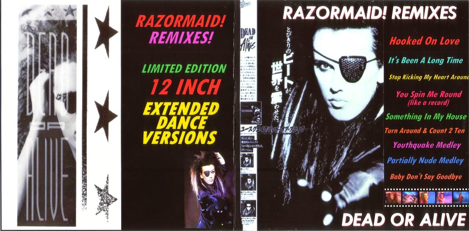 RETRO DISCO HI-NRG: Dead Or Alive - Nude Medley Megamix