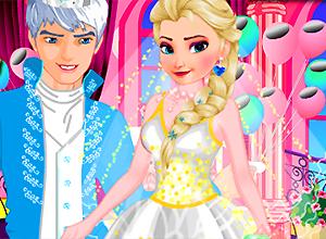Elsa Wedding Make Up
