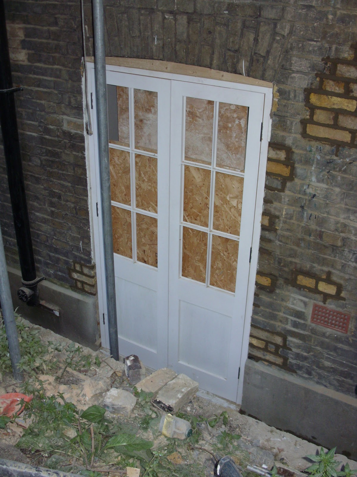 newmans 39 grand designs new french doors and back door