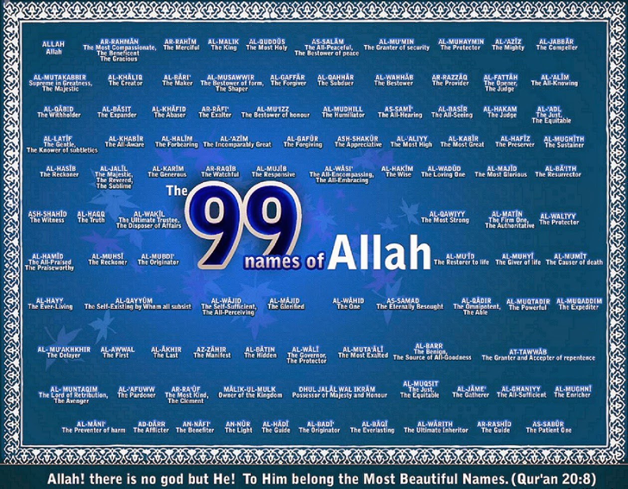 Great Wallpaper Name English - 99+Names+Of+Allah+in+English+Wallpaper  HD_43727.jpg