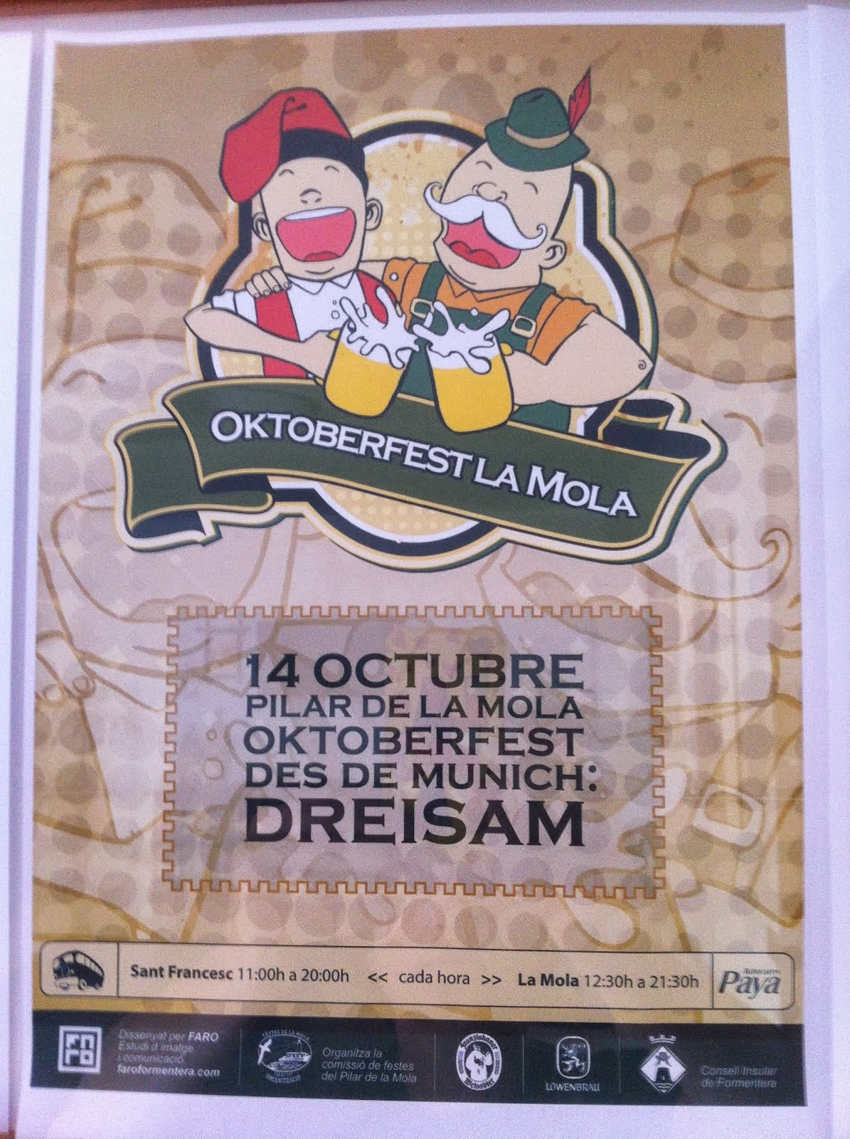Oktoberfest auf La Mola/Formentera