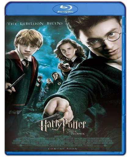 Harry Potter y La Orden del Fénix (2007) HD 1080p Latino